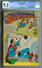 SUPERMAN #156 CGC 9.2 OW/WH PAGES // SILVER AGE CURT SWAN COVER ART