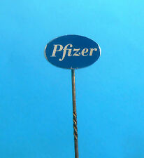 PFIZER INC - American pharmaceutical corp. old rare pin badge medicine pharmacy