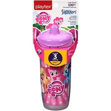 Playtex Sipsters Stage 3 My Little Pony Spill-Proof Sippy Cups, 9 oz