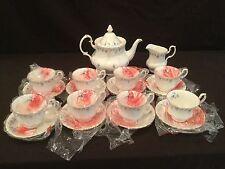 NEW -  ROYAL ALBERT MEMORY LANE TEA SET