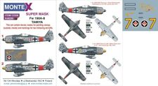 Montex Super Mask 1:48 Fw-190 A 8 for Tamiya Kit #4 Spraying Stencil #K48285