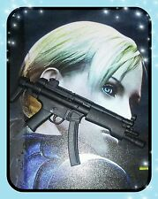 1/6 Hot Toys Biohazard 5 Jill Valentine VGM13 Long Machine Gun
