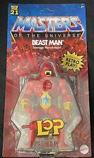 MOTU Beast Man LOP Masters Of The Universe Origins Wave 6 Mattel 2021 In Hand