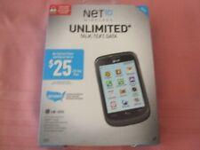 Net10 Lg305C-No Contract-Touchscreen-2G/WiFi Capable-4GB microSD Incld-CDMA-NIB