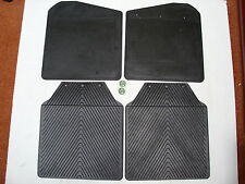LAND ROVER DEFENDER 110 FRONT & REAR MUD FLAPS - SET OF 4 MUD FLAPS -BTR277/4685