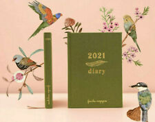 2021 Frankie A5 Diary Cloth Bound Daily Journal with Cards Stickers & Gift Tags