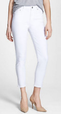Citizens of Humanity Rocket Crop High Rise Skinny Jeans,Optic White,Size 27,$178