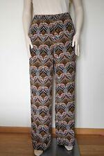 MARINA RINALDI by MAX MARA, 100% Silk Pants, Size 29 MR, 20W US, 50 DE, 58 IT