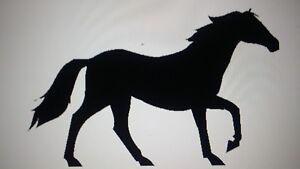 8 Horse Vinyl sticker Wall/Laptop/Car - Vinyl Decal/Sticker wallart