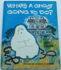 1966 What's a Ghost Going to Do by Jane Thayer, Weekly Reader Club, Morrow & Co.