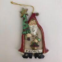 Resin Santa Claus Ornament Kurt S. Adler Christmas Tree Decoration 3.25x4.5in