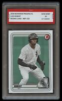 LUIS ROBERT 2020 BOWMAN PROSPECTS (Topps) 1ST GRADED 10 ROOKIE CARD RC WHITE SOX