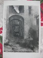 """CPA tableau Salon peinture 1906 Dupain """"Pour elle malgré les édits"""" moeurs duel"""