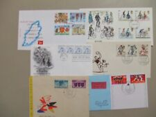 Six fdc with CYCLING stamps