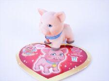 LINDO ou MATILDE le Petit Cochon + sa carte - Figurine Puppy  in my Pocket