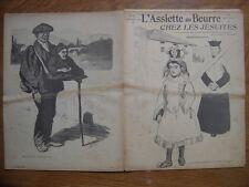 24/09/1904 L'ASSIETTE AU BEURRE 182 Hermann Paul CHEZ LES JESUITES Monastere Loy