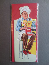 Magnetic BOOKMARK OXO Cubes Chef Cook Advertising Robert Opie Unused in Packet