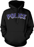 POLICE - Law Enforcement Officer Cops Support Hoodie Pullover