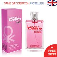 Love & Desire Pheromones for Women 50ml ATTRACT HANDSOME MEN Eau de Toilette