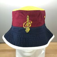 Cleveland Cavaliers NBA Basketball Mitchell & Ness Color Block Bucket Hat NWT