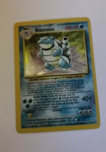 Blastoise holo base set