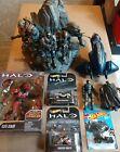 HALO+Collectibles+Lot+-+Halo+Reach+Team+Statue+-+Elite+Zealot+Action+Figures+%2B%2B