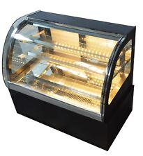 Countertop Refrigerated Cake Cake Showcase arc Type Glass 220V 5.69 ft3 Volume