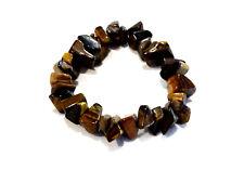 Bijou bracelet pierre oeil de tigre ships sur élastique bangle No 4