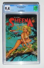 Sheena 3-D Special #1 Blackthorne Comics May 1985 Dave Stevens Cover CGC 9.4