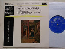 10inch RODRIGO Guitar Concerto YEPES / NATIONAL ORCH. of SPAIN / ARGENTA 1961
