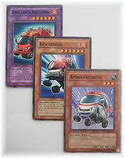 AMBULANCE RESCUEROID AMBULANCEROID POTD yugioh 3 card fusion set NM