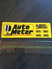 Autometer Guages Sticker Sheet