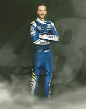 2017 Jimmie Johnson Lowes Kobalt Tools Monster Cup Signed 8x10 Photo #2