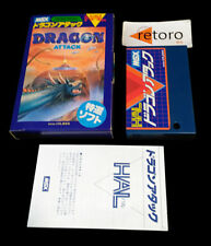 DRAGON ATTACK MSX MSX2 ROM HM-003 Japanese Hal Laboratory complete