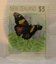 1991 New Zealand SC #1077 YELLOW ADMIRAL BUTTERFLY  MNH stamp
