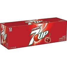 CLASSIC!!! 12pk Cherry 7up ***FAST FREE SHIPPING***