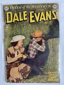 Dale Evans Comics 14 DC / National Comics 1950  GD -  1.8 - 2.0  Photo Cover