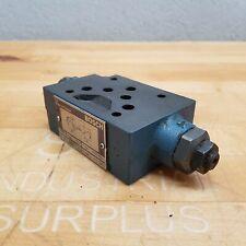 Bosch 0 811 320 025 Hydraulic Throttle Check Valve 4500 Psi Max Used