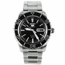 SEIKO MENS ANALOGUE AUTOMATIC WATCH WITH STAINLESS STEEL BRACELET