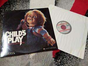 Child's Play Laserdisc Horror Brad Dourif