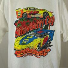 48th Annual Strawberry Cup Mens T Shirt Willamette Speedway Racing NAPA Size 2XL