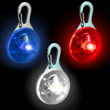 LED Safety Clip-On Night Light Pendant for Running Walking Cycling with 3 Modes