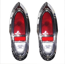 Chevy Cameo GMC Truck Taillight Set Complete 1955-1958 Premium Quality Billet AL
