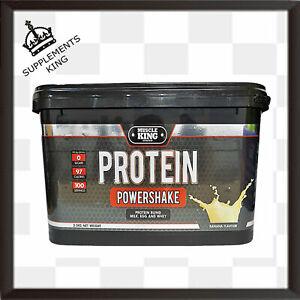 Muscle King Nutrition Protein Powershake - 2.5kg - 100 Servings