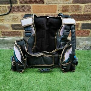 LADIES SEAQUEST DIVA QD BCD SIZE S UK 10 TO 12 COMES AS PHOTOS SHOW