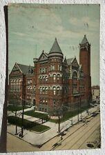 Postcard Boy's High School  Brooklyn, N, Y.