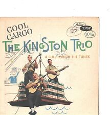 KINGSTON TRIO--HARD COVER-4 SONG EP---(COOL CARGO)---PS--PIC---SLV