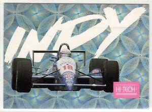 1993 HI-TECH CARDS INDY 500 RACE  DANNY SULLIVAN  INSERT CARD,