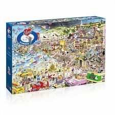 GIBSONS I LOVE SUMMER BY MIKE JUPP 1000 PIECE SEASIDE JIGSAW PUZZLE - NEW GIFT