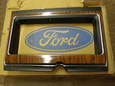 NOS OEM Ford 1979 - 1982 Econoline Van Woodgrain Dash Bezel 1980 1981 E150 E250